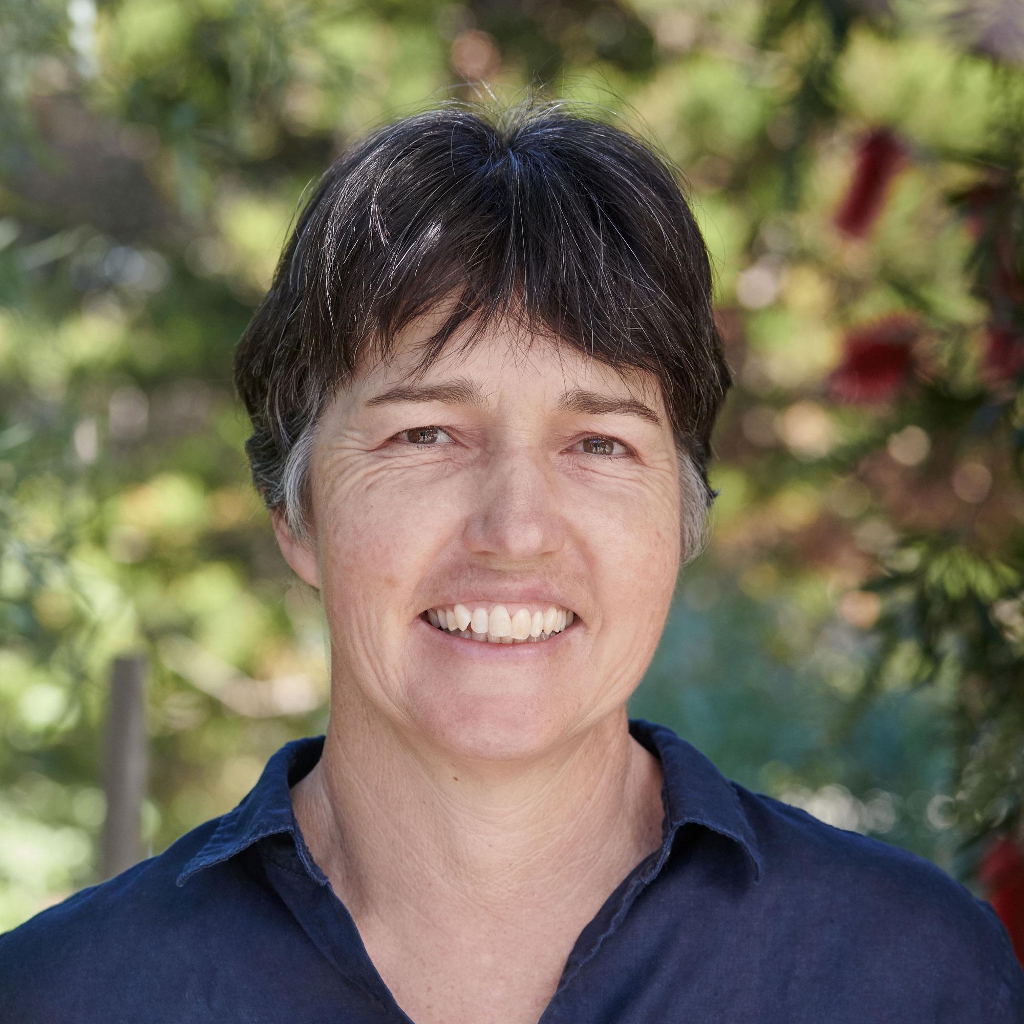 Portrait of writer Jill Griffiths